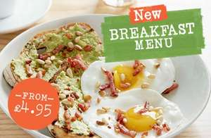 Strada Lakeside - FREE GOURMET COFFEE WITH BREAKFAST from £4.95