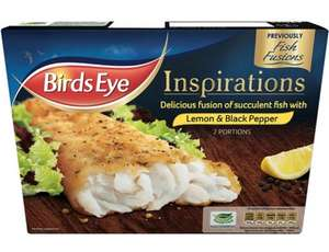 Birds Eye Fish Fusions 2 Lemon & Black Pepper (300g) - £1.50 (Half Price) @ Tesco...