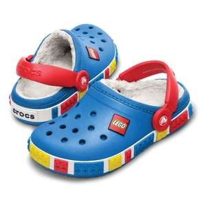Fleece lined Lego crocs Pink or Blue£14.99  +£3.95 P+P @ LittleTrekkers