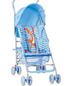 Mothercare Disney Tigger Pushchair - Blue £34.99 @ ARGOS