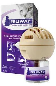 Feliway diffuser 10% discount code + free Feliway spray + free delivery. +topcashback @ Medic Animal
