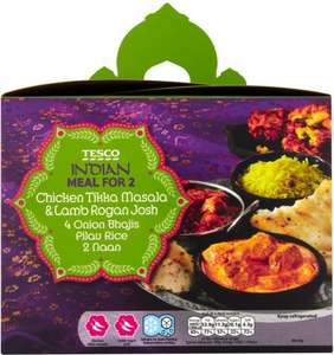 Tesco Indian Meal Deals from £3.15 @ Tesco