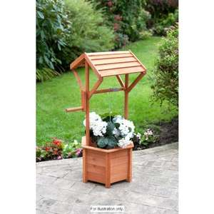 Large Garden Wishing Well Planter Was £16.99 Now £9.99 @ B&M