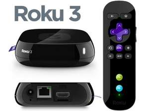 ** Roku 3 HD Digital Media Streamer with Headphone Remote & Motion Control now £69 (using code) @ Tesco Direct **