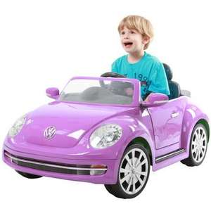 6v VW beetle car now £99.99 available in purple and green @ Toys R Us