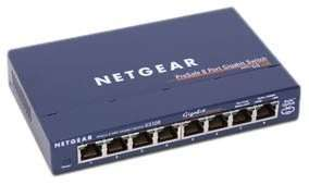 Netgear GS108 8 Port ProSafe Gigabit Ethernet Switch - £23.99 Comms Express will be £24.36 delivered with add on patch cable