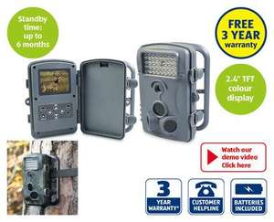 Wildlife Camera with 3 year warranty £69.99 from 19th at ALDI