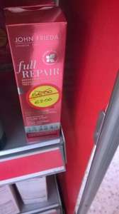 John Freida FULL REPAIR™ STYLE CREATOR HEAT-ACTIVATED STYLING SPRAY was 6.00 now 2.00 @ Morrisons