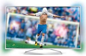 "Philips 55"" PFS6609 Full HD, 3D, Smart, FreeView HD, LED TV + Ambilight SAVE £200 - £999.99 @ Euronics"