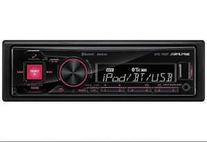 £69.99 @ Halfords ALPINE UTE-72BT DRIVE-LESS HEAD UNIT WITH BLUETOOTH AND IPOD