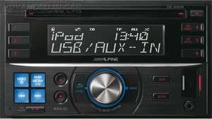 Alpine CDE-W233R CD Tuner Double Din Car Stereo £50 at Halfords