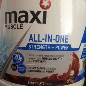 Maxi Muscle all-in-one 990g £9.99 @ B&M