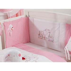 Red Kite Hello Ernest Cosi Cot Bedding Set - Pink  WAS £28 NOW £12 @ ASDA instore