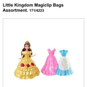 Disney Magiclip Princesses 2 for £15 at Argos