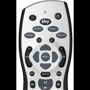 New Sky HD Rev 10 Remote Control replacement £4.39 @ ebay electronic_world