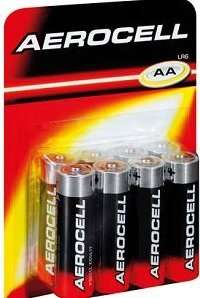 8 Aerocell AA Batteries - £2.00 (Instore) @ Lidl