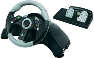MadCatz Microcon MC2 Xbox 360 Licensed Steering Wheel and Pedals £23.99 delivered at Argos / Ebay