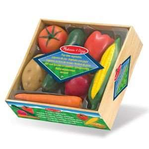 Melissa & Doug play time veg set £5.10 (using code HZ69) from £20 Debenhams free delivery to store or if spending over £30 (other M&D bargains in comments)