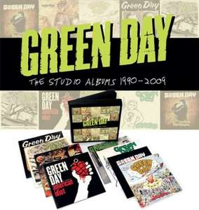 Green Day The Studio Albums 1990 - 2009 [CDs] £12.58 from Amazon
