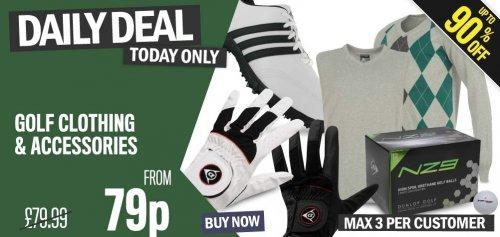 Dunlop Golf Gloves £0.79 each @ Sports Direct
