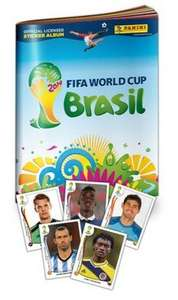FREE Official Panini FIFA World Cup 2014 Brazil Sticker Book @ Gameseek