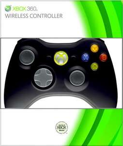Microsoft Xbox 360 Black Wireless Controller- £19.98 - Zavvi