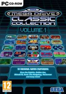 SEGA Mega Drive Classic Collection (PC) - Volume 1 (megamoviestore) - £1.99 / Volume 2 - £1.65 (SupaStock) / Volume 3 - £2.09 (365 Games) - Free Delivery £10 spend / Prime / Locker Sold by SupaStock and Fulfilled by Amazon.