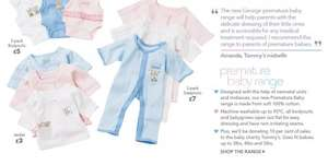 Asda premature baby clothes range starting at £3