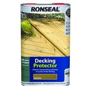Ronseal Decking Protector 5L Natural Oak or Natural £19.99 @ Wickes