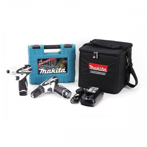 Makita 10.8V Combi Drill, Impact Driver & accessories £135 @ Toolbox.co.uk