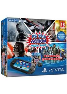 PS Vita Slim Action Mega Pack Bundle (5 Games + 8gb Memory Card) - £159.99 - Base