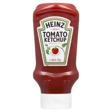 Heinz Top Down Squeezy Tomato Ketchup Sauce 570G - reduced from £2.39 to £1.20 @ Tesco