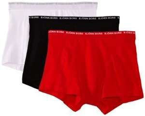 Bjorn Borg Men's Boxer Shorts Without Fly 3 Pack £18.92 @ Amazon UK