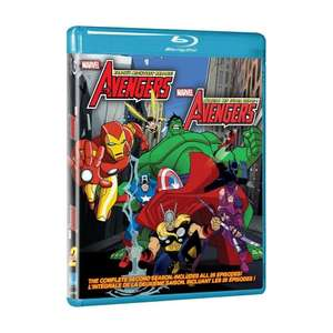The Avengers: Earth's Mightiest Heroes Season 2 (Bilingual) [Blu-ray] for £13.50 @ Amazon.ca