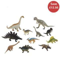 ELC dinosaur or wild animal set now £12.50 from elc/mothercare