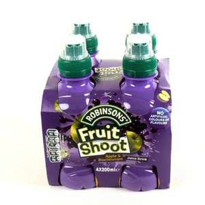Robinsons Fruit Shoot Orange/blackcurrant 4 x 200ml (2 for £1.04) @ Tesco (Glitch)