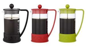 ** Bodum Brazil French Press Coffee Maker (8 Cup) in Black, Red or Green now £7.97 @ John Lewis **