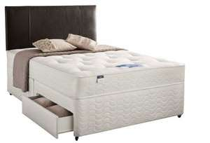 Silentnight Kara Divan Bed, 2 Drawers, King (5') - £248.99 @ Silentnight