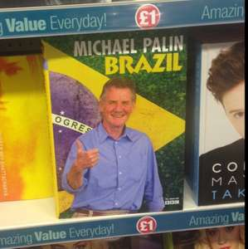 Brazil - Michael Palin - hardback book - £1 @ Poundland