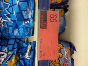 monster munch, squares, wotsits, Doritos Crisps 2 for £1.50 at B&M instore