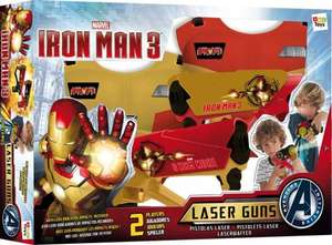 Iron Man 3 Mega Laser set reduced to £1 @ B&M