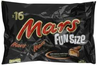 Mars Bar Funsize Bars x16 - Bulk Box of 14 bags! - 224 mars bars £9.74 @ Amazon  (free delivery £10 spend/prime/locker)