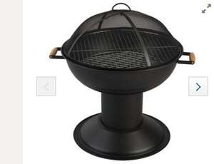 Fire Pit / BBQ - 54cm diameter was £45.00 now £22.05 @ Tesco Direct with free C & C
