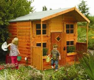 Rowlinson Hideaway wooden two storey playhouse Tesco Direct £430 (normally £650)
