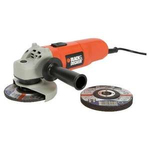 Black & Decker CD115A5 240V 710W 115mm Small Angle Grinder with 5 Discs and Guard £22.50 @ Amazon