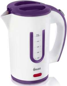 Swan SK27010N 0.5L Portable Travel Jug Kettle with Two Tea Cups  - £9.00 @ Amazon (free delivery £10 spend/locker/Prime)