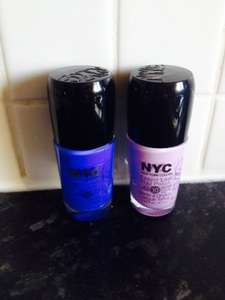 NYC EXPERT LAST NAIL VARNISH UP TO 10 DAYS SUPERDRUG £2.49 EACH OR £2.99 FOR TWO!!!!