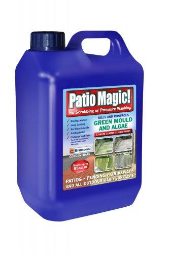 Patio Magic 2.5 Litres Liquid Concentrate Mould, Algae and Moss Killer £5.95 @ Amazon (free delivery £10 spend/prime/Amazon locker)