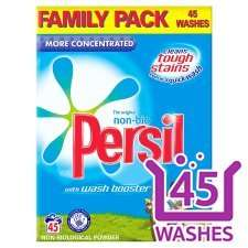 Persil Powder Non Bio 3.185Kg 45 Wash @ Tesco (National) - £6 (£5 off)