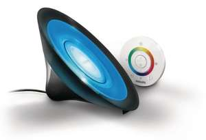 Philips LivingColors Aura Colour Changing Mood Light Black (Integrated 1 x 8 Watts LED Bulb, Remote Control) £28.99 @ Amazon